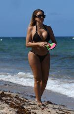 LARSA PIPPEN in Bikini at Beach in Miami 07/25/2021