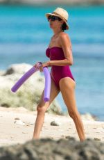 LAUREN SILVERMAN in Swimsuit at a Beach in Barbados 07/28/2021