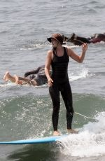 LEIGHTON MEESTER Out Surfing in Malibu 07/21/2021