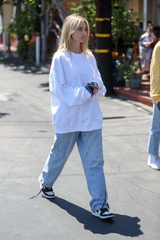 LENI KLUM Out and About in West Hollywood 07/03/2021