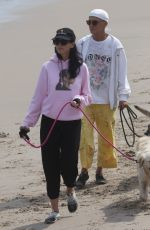 LIBERTY ROSS and Jimmy Lovine Out at a Beach in Malibu 07/25/2021