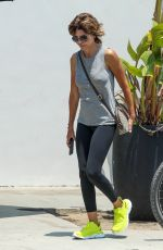 LISA RINNA Out for a Quick Snack in Brentwood 07/15/2021