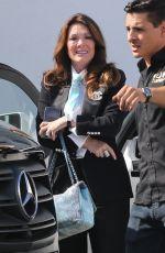 LISA VANDERPUMP Heading to Sur Restaurant in West Hollywood 07/02/2021