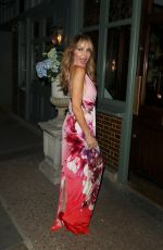 LIZZIE CUNDY at The Ivy in London 07/29/2021