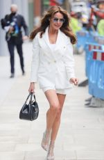LIZZIE CUNDY Leaves Jeremy Vine TV Show in London 07/12/2021