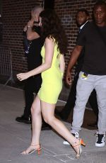 LORDE at Late Show with Stephen Colbert in New York 07/13/2021