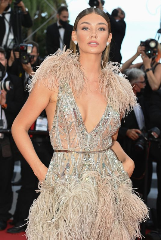 LORENA RAE at Tout S'est Bien Passe Screening at 2021 Cannes Film Festival 07/07/2021