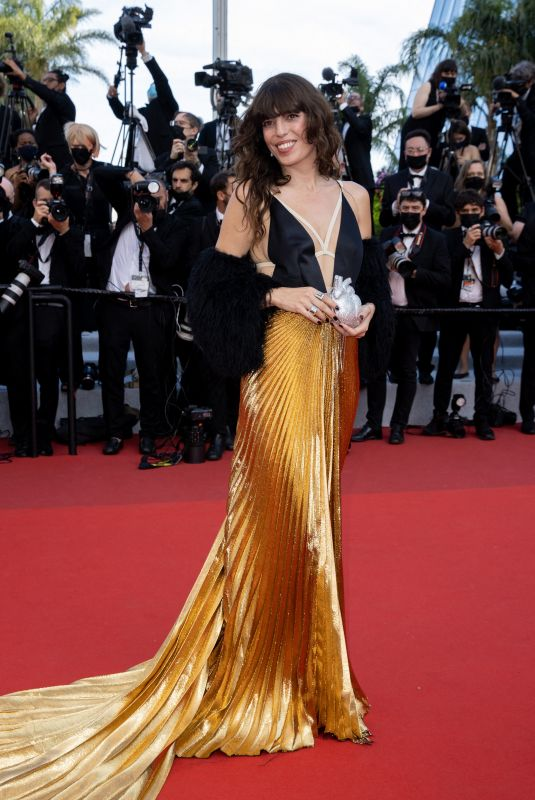 LOU DOILLON at Annette Screening and Opening Ceremony at 74th Cannes Film Festival 07/06/2021