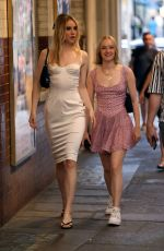 MADDIE and SUKI WATERHOUSE at J. Sheekey 125th Anniversary Party in London 07/19/2021