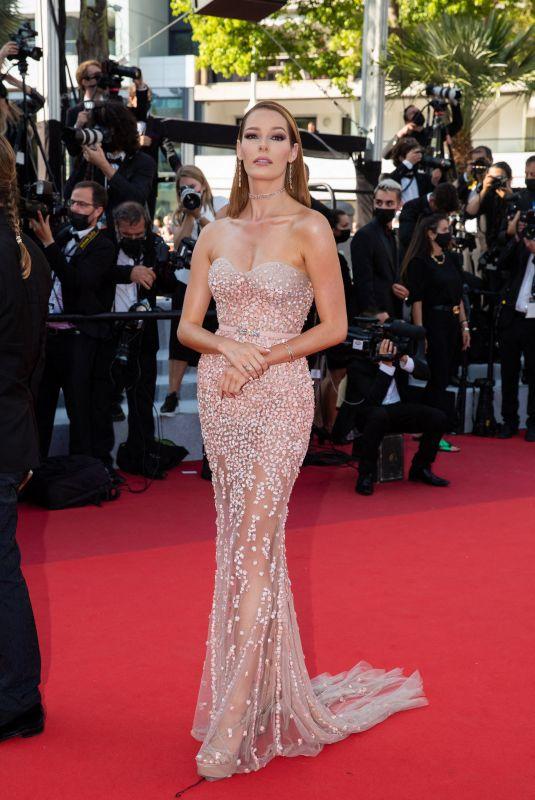 MAEVA COUCKE at De Son Vivant Screening at 74th Annual Cannes Film Festival 07/10/2021