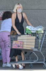 MALIN AKERMAN Out Shopping in Los Feliz 07/29/2021