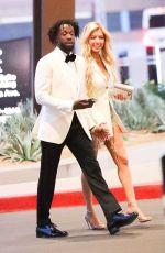 MANDANA BOLORUCHI at Conor McGregor vs Dustin Poirier Fight in Las Vegas 07/10/2021