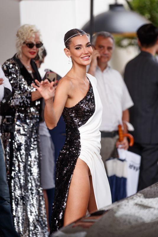 MARI FONSECA at Martinez Hotel at 74th Cannes Film Festival 07/16/2021