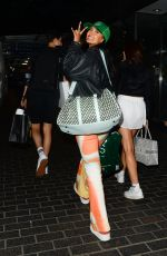 MAYA JAMA Arrives Back in London from Manchester 07/29/2021