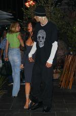 MEGAN FOX and Machine Gun Kelly at Avra in Beverly Hills 07/12/2021