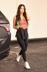 MEGAN FOX Leaves a Skincare Clinic in Beverly Hills 07/14/2021