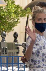 MELANIE LAURENT at Martinez Hotel at 74th Cannes Film Festival 07/06/2021