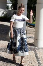 MELISSA GEORGE Leaves Hotel Martinez at Cannes Film Festival 07/09/2021/