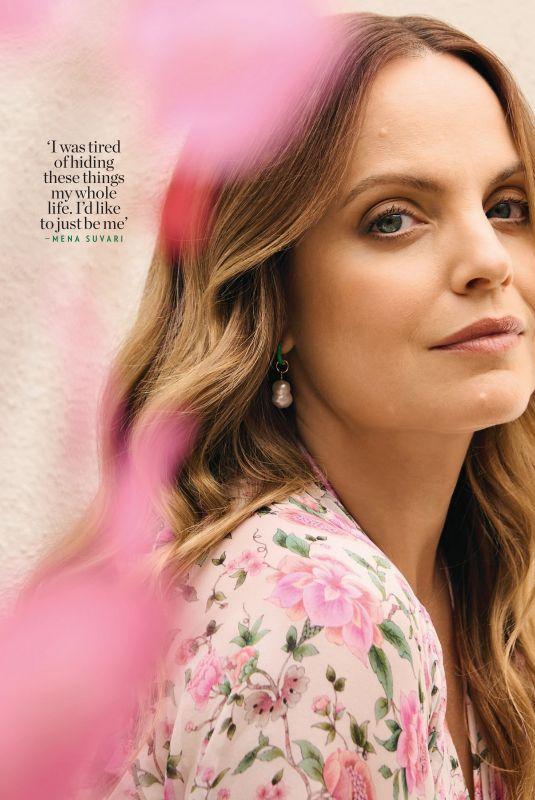 MENA SUVARI in People Magazine, August 2021