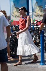 MIA MORETTI Arrives in Capri at UNICEF Italia and LuisaViaRoma Summer Gala 07/30/2021