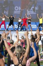 MICHELLE HUNZIKER at Iron Bootcamp at Adriatic Golf Camp in Cervia 07/17/2021