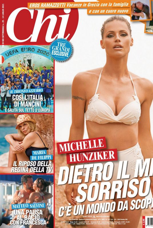 MICHELLE HUNZIKER in Chi Magazine, July 2021