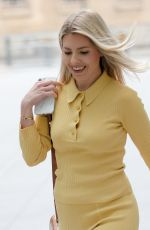 MOLLIE KING Arrives at BBC Radio 1 in London 07/25/2021