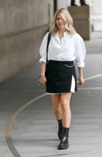 MOLLIE KING at BBC Radio One Studios in London 07/10/2021