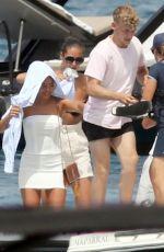 MOLLY MAE HAGUE at a Yacht in Formentera 07/23/2021