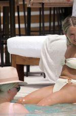 MOLLY MAE HAGUE in Bikini at a Pool in Ibiza 07/26/2021
