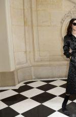 MONICA BELLUCCI at Christian Dior Haute Couture F/W 21/22 Show at Paris Fashion Week 07/05/2021