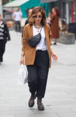 MYLEENE KLASS Arrives at Smooth Radio in London 07/10/2021