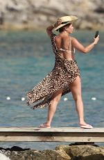 MYLEENE KLASS in Bikini in Spain 07/31/2021