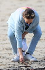 NATALIE PORTMAN Out at Parsley Bay Beach in Sydney 07/08/2021