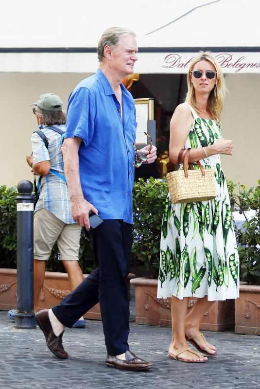 NICKY HILTON Out for Lunch with Her Parents in Rome 07/01/2021