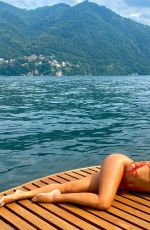 NICOLE SCHERZINGER in a Red Bikini - Instagram Photos 07/25/2021