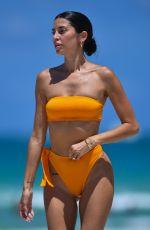 NICOLE WILLIAMS in Bikini at a Beach in Miami 07/12/2021