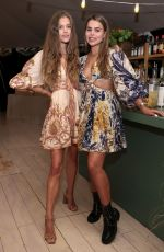 NINA AGDAL at Curateur Launch Event in The Hamptons 07/08/2021