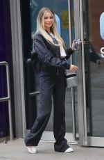 OLIVIA ATTWEOOD Arrives at Capital Radio in London 07/02/2021