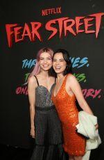 OLIVIA SCOTT WELCH at Fear Street Part 3: 1966 Premiere in Los Angeles 07/13/2021