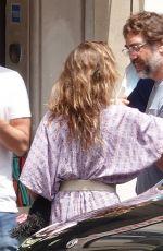 PENELOPE CRUZ Visits  Vatican Museums 07/28/2021