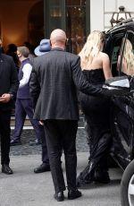 PIXIE LOTT Leaves Her Hotel in Rome 07/24/2021