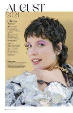 Pregnant HALSEY in Allure Magazine, August 2021