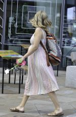 Pregnant RACHEL RILEY Out and About in Manchester 07/14/2021