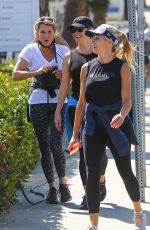 REESE WITHERSPOON Out for Morning Exercise in Brentwood 07/28/2021