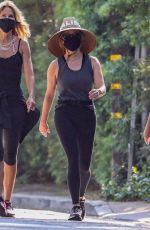 REESE WITHERSPOON Out Hiking in Malibu 07/29/2021