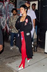 RIHANNA and ASAP Rocky at 4th of July Party in China Town in New York 07/04/2021