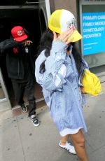 RIHANNA Leaves Electric Lady Studios in New York 07/29/2021