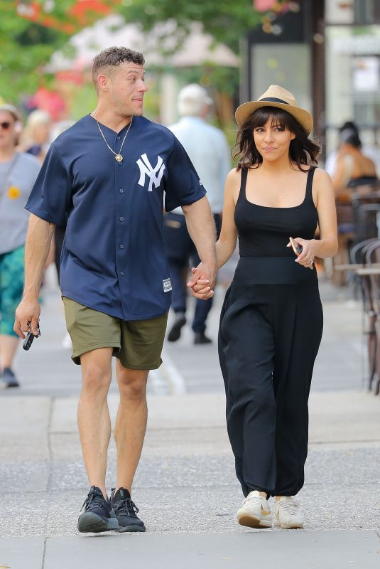 ROXANNE PALLETT and Jason Carrion Out in New York 07/20/2021