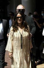 SALMA HAYEK and Francois-Henri Pinault Out at 74th Cannes Film Festival 07/11/2021